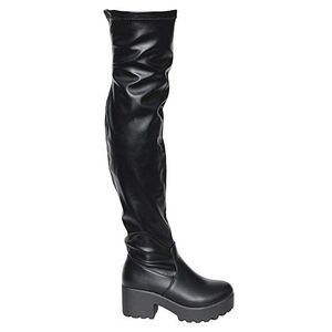 Chunky Platform Over The Knee Thigh High Boots